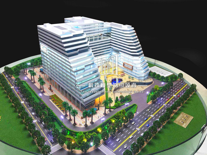 Yufu Center Project Model